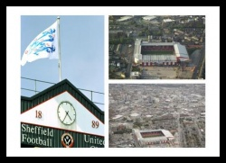 Sheffield United Bramall Lane Stadium Photo Memorabilia