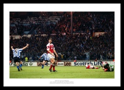 Sheffield Wednesday 1993 FA Cup Final Goal Photo Memorabilia