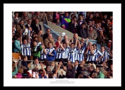 Sheffield Wednesday 1991 League Cup Final Team Photo Memorabilia