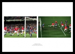 Solksjaer Goal Manchester United 1999 Champions League Final Photo