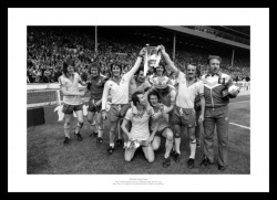 Southampton FC 1976 FA Cup Final Team Photo Memorabilia