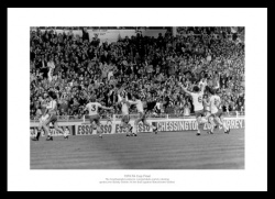 Southampton FC 1976 FA Cup Final Winning Goal Photo Memorabilia