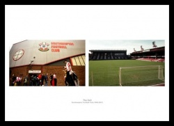 Southampton FC The Dell Football Stadium Historic Photo Memorabilia