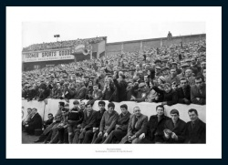 Southampton FC The Dell 1960 Historic Photo Memorabilia