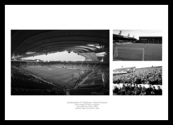 Southampton FC Stadiums Past and Present Photo Memorabilia