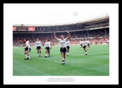 Tottenham Hotspur 3 Arsenal 1 1991 FA Cup Semi Final Photo Memorabilia
