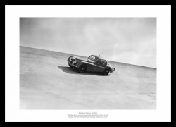 Stirling Moss Jaguar XK120 1953 Photo Memorabilia