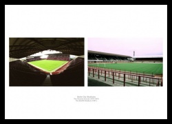 Stoke City Stadiums Old and New Photo Memorabilia