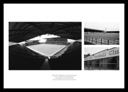Stoke City Stadiums Past and Present Photo Memorabilia