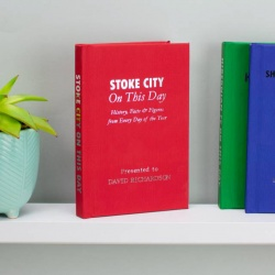 Personalised Stoke City 'On This Day' Book