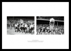 Sunderland AFC 1937 & 1973 FA Cup Winning Teams Photo Memorabilia