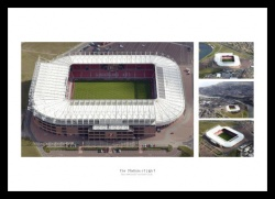 Sunderland AFC Stadium of Light Aerial Photo
