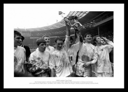 Swindon Town 1969 League Cup Final Team Photo Memorabilia