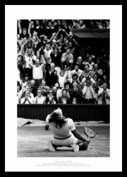 Bjorn Borg Wins 5th Wimbledon Title Photo