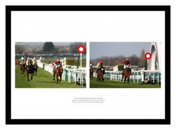 Tiger Roll 2018 & 2019 Grand National Wins Photo Memorabilia