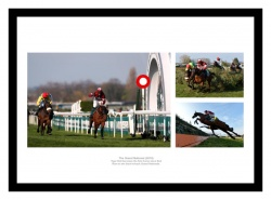 Tiger Roll 2019 Grand National Montage Horse Racing Photo Memorabilia