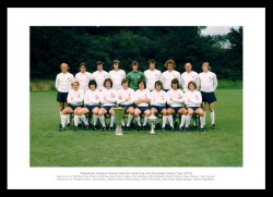 Tottenham Hotspur 1972 UEFA Cup Team Photo Memorabilia