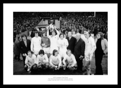 Tottenham Hotpsur 1973 League Cup Final Team Photo Memorabilia