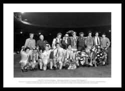 Tottenham Hotspur 1982 FA Cup Final Team Photo Memorabilia