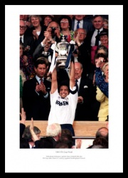 Tottenham Hotspur 1991 FA Cup Final Photo Memorabilia