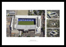 Tottenham Hotspur Old White Hart Lane Aerial Photo Memorabilia