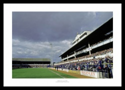 Tottenham Hotspur White Hart Lane Stadium 1988  Photo Memorabilia