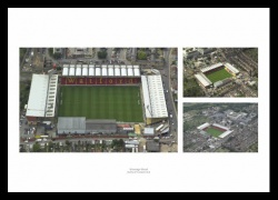 Watford FC Vicarage Road Aerial Views Photo Memorabilia