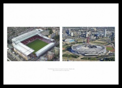 West Ham United Stadiums Past and Present Photo Memorabilia