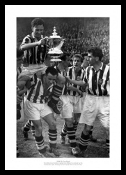 West Bromwich Albion 1954 FA Cup Final Team Photo Memorabilia