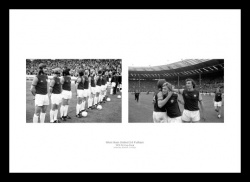 West Ham United 1975 FA Cup Final Photo Memorabilia