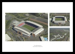 Wigan Athletic Stadium Aerial Photo Memorabilia