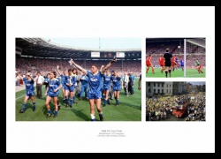 Wimbledon FC 1988 FA Cup Final Photo Montage