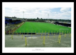 Wimbledon FC Plough Lane Historic Football Stadium Photo Memorabilia