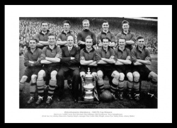 Wolverhampton Wanderers 1949 FA Cup Final Team Photo Memorabilia