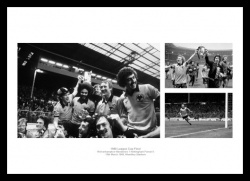 Wolverhampton Wanderers 1980 League Cup Final Photo Memorabilia