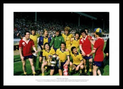 Arsenal 1979 FA Cup Final Team Celebrations Photo Memorabilia