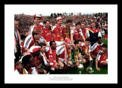 Arsenal 1991 League Champions Team Photo Memorabilia