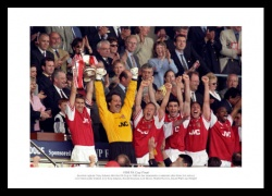 Arsenal 1998 FA Cup Final Team Photo Memorabilia