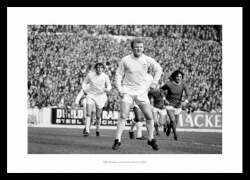 Billy Bremner & Norman Hunter Leeds United 1970 Photo Memorabilia