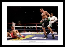 Joe Calzaghe Undisputed Champion 2007 Boxing Photo Memorabilia