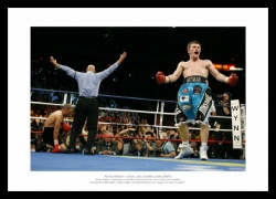 Ricky Hatton v Luis Castillo 2007 World Title Photo Memorabilia