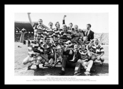 Celtic FC 1988 League & Scottish Cup Champions Photo