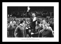 Jock Stein Celtic 1967 League Champions Photo Memorabilia