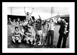 Celtic FC 1979 League Champions Team Photo Memorabilia