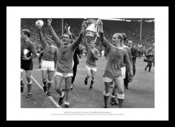 Everton FC 1966 FA Cup Final Team Photo Memorabilia
