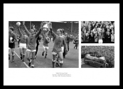 Everton FC 1966 FA Cup Final Photo Memorabilia