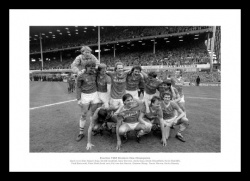 Everton FC 1985 League Champions Celebrations Photo Memorabilia
