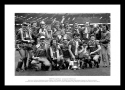 Liverpool 1986 FA Cup Final Team Photo Memorabilia