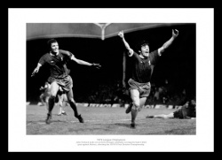 Liverpool 1976 League Champions Toshack & Keegan Photo