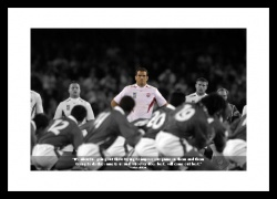 Martin Johnson Classic Quote Rugby Print